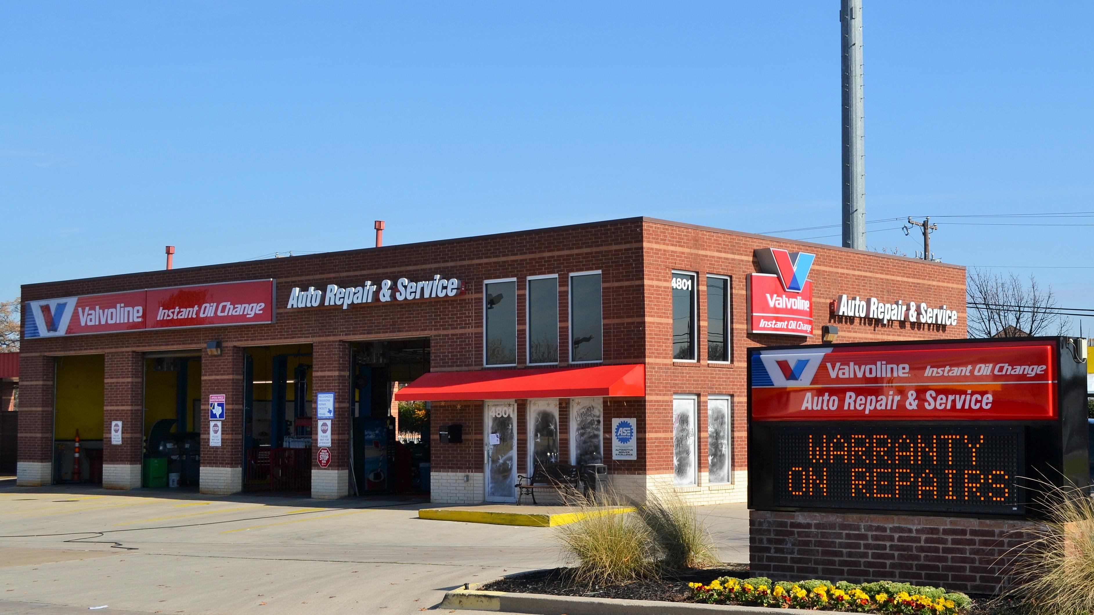 Valvoline Instant Oil Change Arlington, TX, 4801 West Sublett Rd