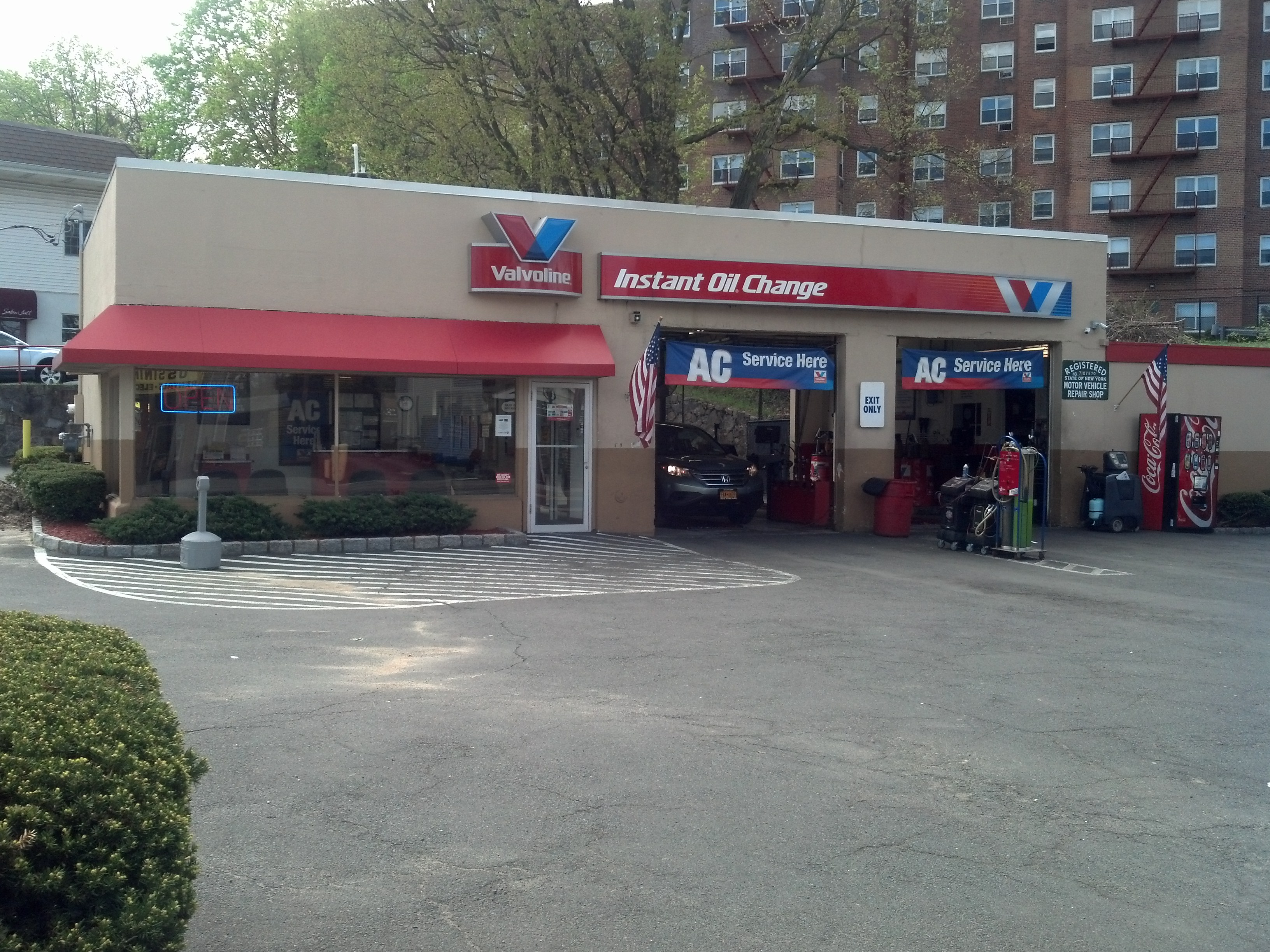 Valvoline Instant Oil Change Ossining Ny 72 Croton Avenue