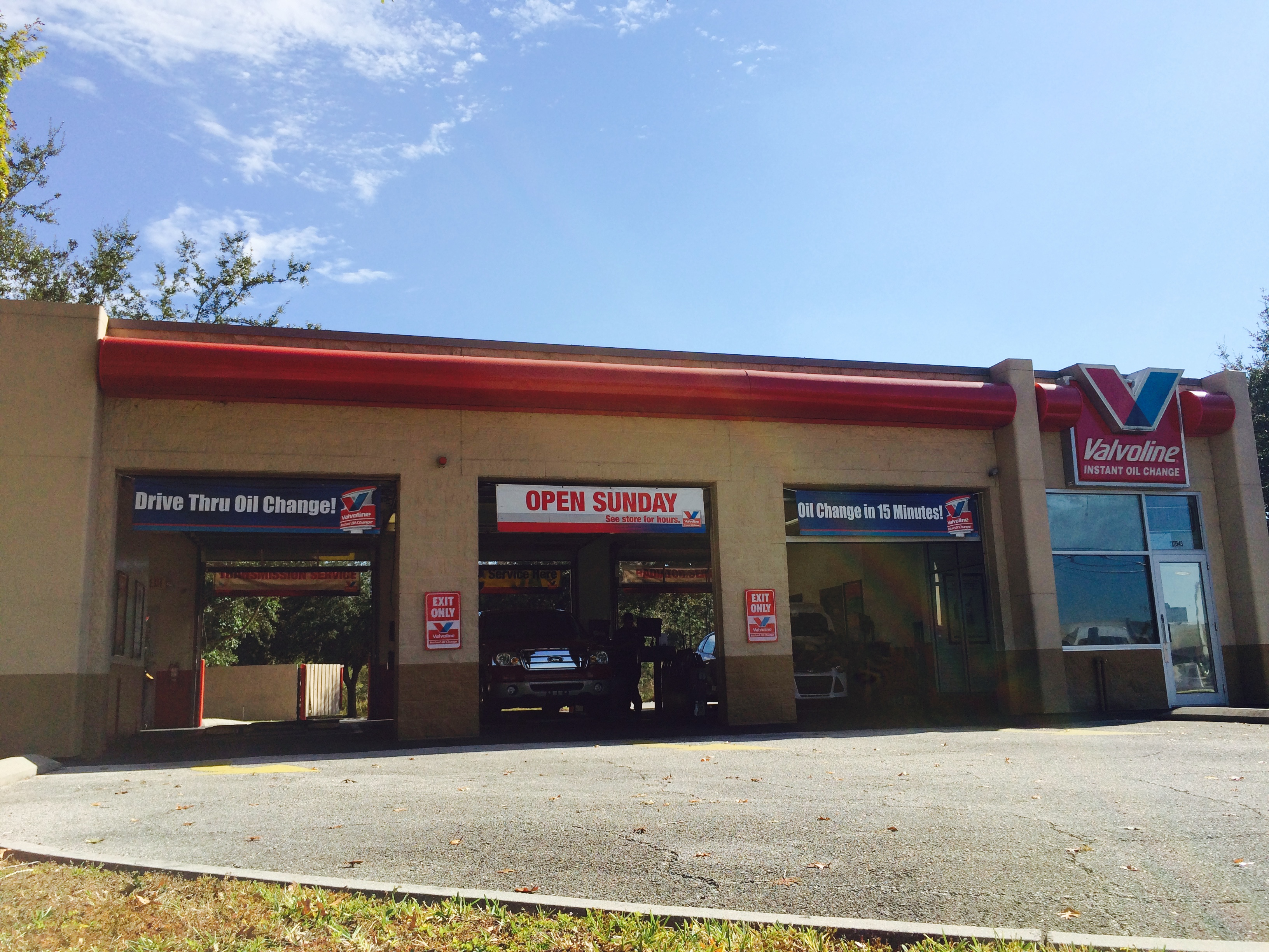 Valvoline Instant Oil Change Orlando Fl 12543 South Orange Blossom