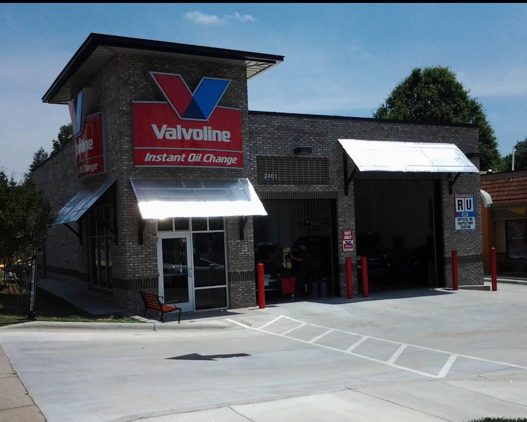 Drive Thru Oil Change >> Valvoline Instant Oil Change Charlotte, NC, 2401 South Boulevard