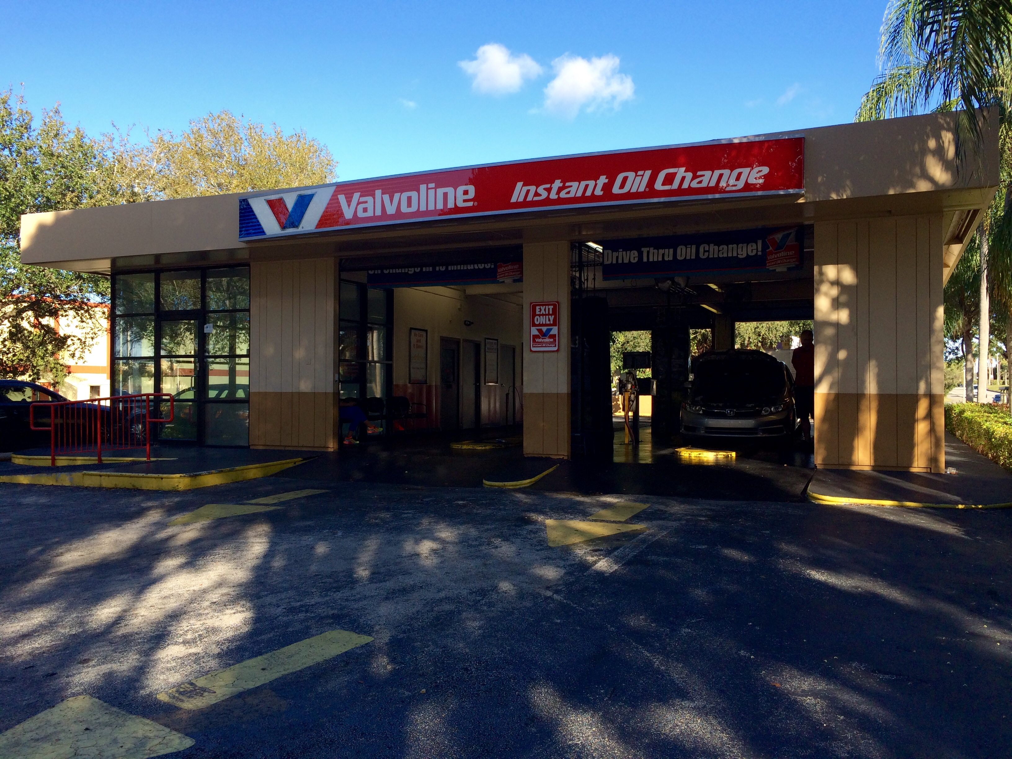 Valvoline Instant Oil Change Miami Fl 15203 Sw 104th Street